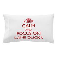 Cute Duck power Pillow Case