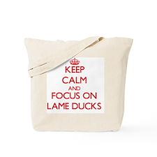 Cute Duck power Tote Bag