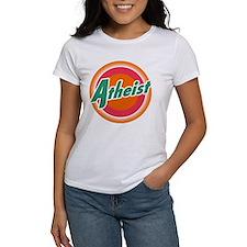 Cute Atheist logo Tee