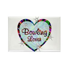Bowling Lover Rectangle Magnet