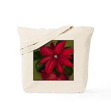 Unique Poinsettia Tote Bag