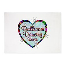 Ballroom Dancing Lover 5'x7'Area Rug