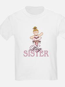 Ballerina Big Sister T-Shirt