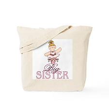 Ballerina Big Sister Tote Bag