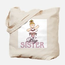 Ballerina Big Sister Tote Bag