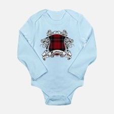 Ramsay Tartan Shield Long Sleeve Infant Bodysuit