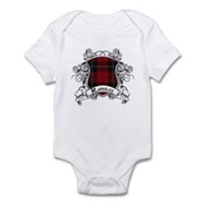 Ramsay Tartan Shield Infant Bodysuit