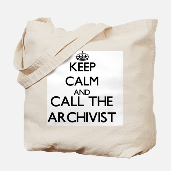 Cute Archivist Tote Bag