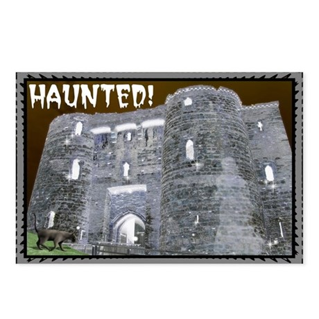 ...Halloween Castle... Postcards (Package of 8)