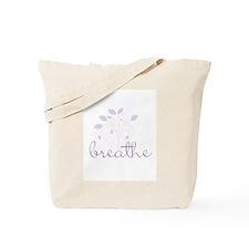 Breathe (Lavendar) Tote Bag