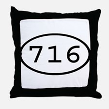 716 Oval Throw Pillow
