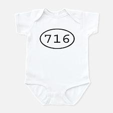 716 Oval Infant Bodysuit