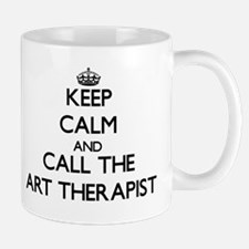 Keep calm and call the Art Therapist Mugs