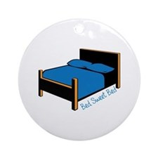 Bed Sweet Bed Ornament (Round)