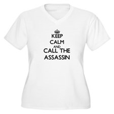 Keep calm and call the Assassin Plus Size T-Shirt