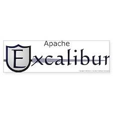 Apache Excalibur Bumper Bumper Sticker