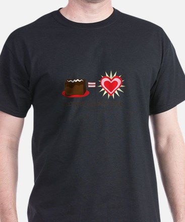 Brownie Equals Love T-Shirt