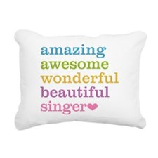 Cute Best singer Rectangular Canvas Pillow