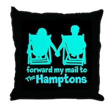 The Hamptons Throw Pillow