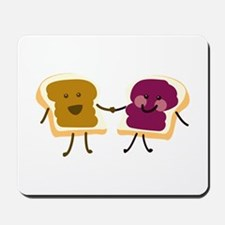 Peanutbutter and Jelly Mousepad