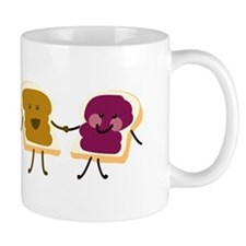 Peanutbutter and Jelly Mugs