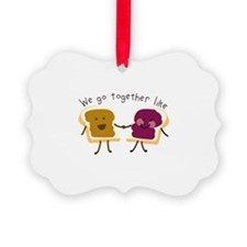 Together Sandwich Ornament