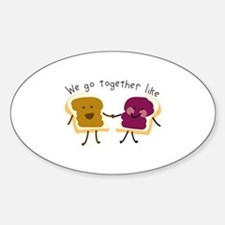 Together Sandwich Decal