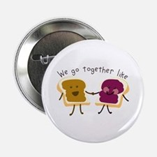 "Together Sandwich 2.25"" Button"