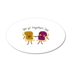 Together Sandwich Wall Decal