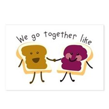 Together Sandwich Postcards (Package of 8)