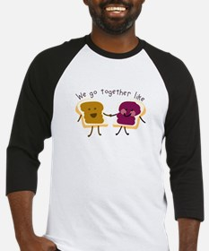Together Sandwich Baseball Jersey