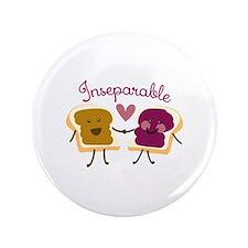 """Inseparable Sandwich 3.5"""" Button (100 pack)"""