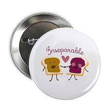 """Inseparable Sandwich 2.25"""" Button (10 pack)"""