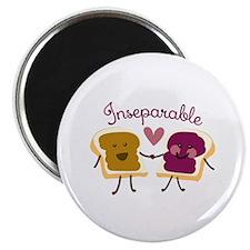 Inseparable Sandwich Magnets