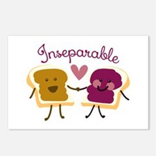 Inseparable Sandwich Postcards (Package of 8)