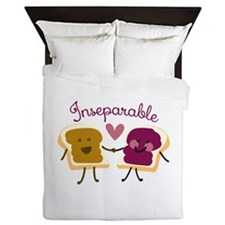 Inseparable Sandwich Queen Duvet