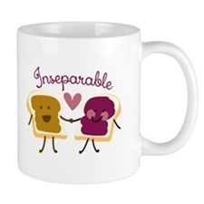 Inseparable Sandwich Mugs