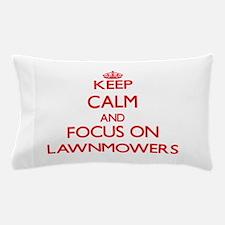 Cute Lawnmower Pillow Case