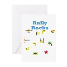 Rally 3 Greeting Cards (Pk of 10)