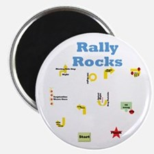 """Rally 3 2.25"""" Magnet (10 pack)"""