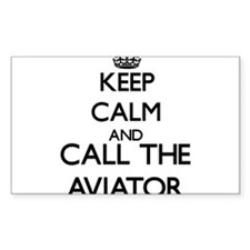 Keep calm and call the Aviator Decal