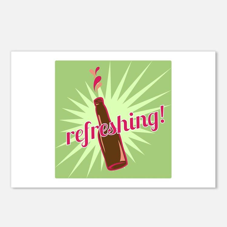 Refreshing Pop Postcards (Package of 8)