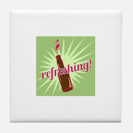 Refreshing Pop Tile Coaster