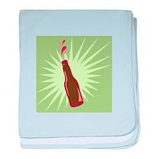 Soda Bottle baby blanket