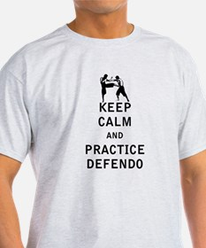Keep Calm and Practice Defendo T-Shirt