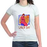 Maternity Labor Day Jr. Ringer T-Shirt