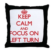Unique Left Throw Pillow
