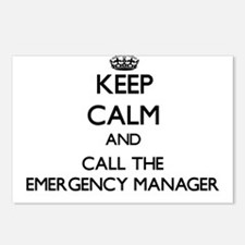 Cute Emergency managers Postcards (Package of 8)