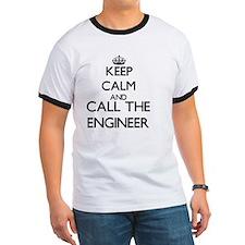 Keep calm and call the Engineer T-Shirt