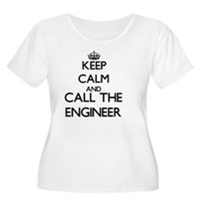 Keep calm and call the Engineer Plus Size T-Shirt